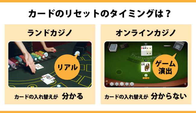 オンラインカジノでカウンティングの効果はあるの?